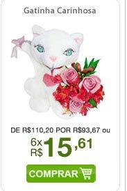 Gatinha Carinhosa de R$110,20 por R$93,67